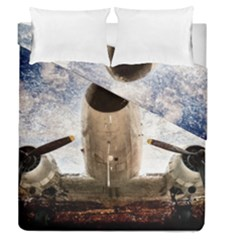 Legend Of The Sky Duvet Cover Double Side (queen Size)
