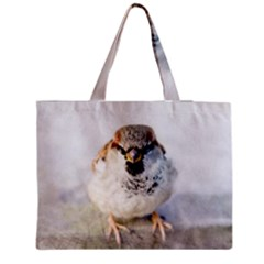 Do Not Mess With Sparrows Medium Tote Bag