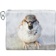 Do Not Mess With Sparrows Canvas Cosmetic Bag (xxxl)