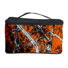 Red Night Of Winter Cosmetic Storage Case