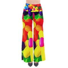Toy Balloon Flowers So Vintage Palazzo Pants
