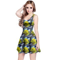 Fish Reversible Sleeveless Dress