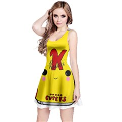 Kawaii Cute Tennants Lager Can Reversible Sleeveless Dress