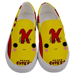 Kawaii Cute Tennants Lager Can Men s Canvas Slip Ons
