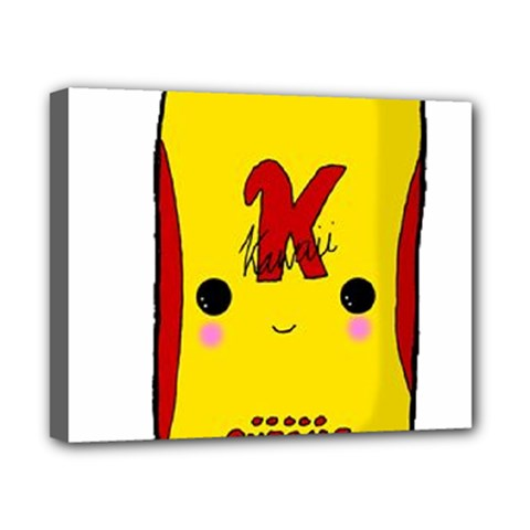 Kawaii Cute Tennants Lager Can Canvas 10  X 8