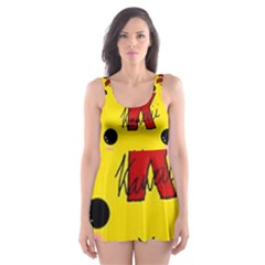 Kawaii Cute Tennants Lager Can Skater Dress Swimsuit