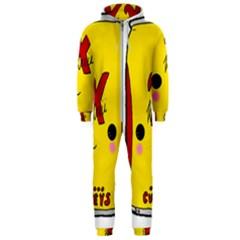 Kawaii Cute Tennants Lager Can Hooded Jumpsuit (men)
