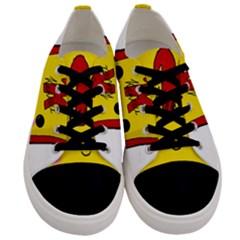Kawaii Cute Tennants Lager Can Men s Low Top Canvas Sneakers
