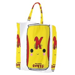 Kawaii Cute Tennants Lager Can Giant Grocery Tote
