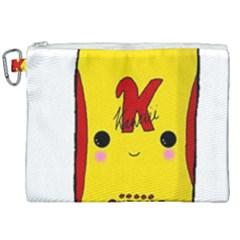Kawaii Cute Tennants Lager Can Canvas Cosmetic Bag (xxl) by CuteKawaii1982