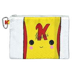 Kawaii Cute Tennants Lager Can Canvas Cosmetic Bag (xl)