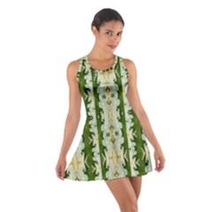 Fantasy Jasmine Paradise Bloom Cotton Racerback Dress