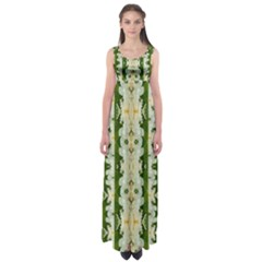 Fantasy Jasmine Paradise Bloom Empire Waist Maxi Dress