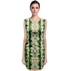 Fantasy Jasmine Paradise Bloom Classic Sleeveless Midi Dress