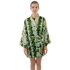 Fantasy Jasmine Paradise Bloom Long Sleeve Kimono Robe