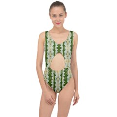 Fantasy Jasmine Paradise Bloom Center Cut Out Swimsuit