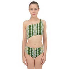 Fantasy Jasmine Paradise Bloom Spliced Up Two Piece Swimsuit