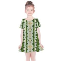 Fantasy Jasmine Paradise Bloom Kids  Simple Cotton Dress