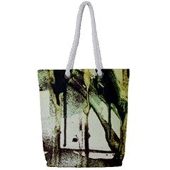 There Is No Promissed Rain 5 Full Print Rope Handle Tote (small)