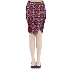 E 2 Midi Wrap Pencil Skirt
