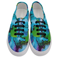 Blue Green Ink                                    Women s Classic Low Top Sneakers