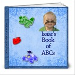 Isaac ABCs - 8x8 Photo Book (20 pages)