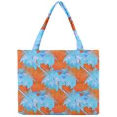 Coconut Palm Trees Tropical Dawn Mini Tote Bag