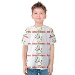 Acts Of Kindness Kids  Cotton Tee