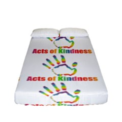 Acts Of Kindness Fitted Sheet (full/ Double Size)