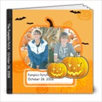 Pumpkin Patch 10-26-08 - 8x8 Photo Book (20 pages)