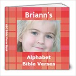 Bible Verse Book Briann - 8x8 Photo Book (20 pages)