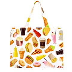 53356631 L Zipper Large Tote Bag