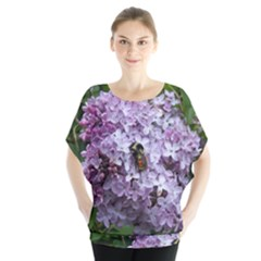 Lilac Bumble Bee Blouse