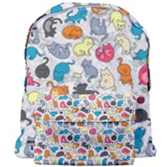 Funny Cute Colorful Cats Pattern Giant Full Print Backpack