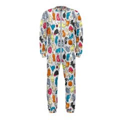 Funny Cute Colorful Cats Pattern Onepiece Jumpsuit (kids)