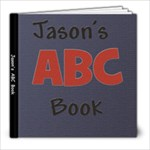 Jason ABC Book - 8x8 Photo Book (20 pages)