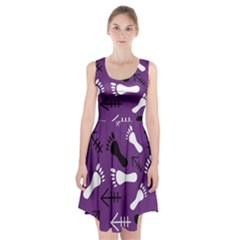 Purple Racerback Midi Dress
