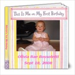 Olivia s 1st b-day - 8x8 Photo Book (30 pages)