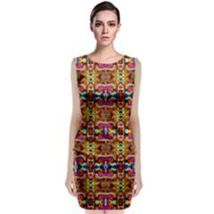 8 Sleeveless Velvet Midi Dress