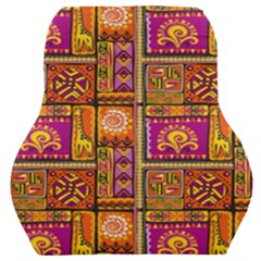 Traditional Africa Border Wallpaper Pattern Colored 3 Car Seat Back Cushion