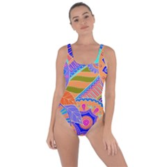 Pop Art Paisley Flowers Ornaments Multicolored 3 Bring Sexy Back Swimsuit