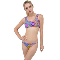 Pop Art Paisley Flowers Ornaments Multicolored 3 The Little Details Bikini Set