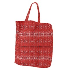 Red Lace Design Created By Flipstylez Designs Giant Grocery Tote by flipstylezdes