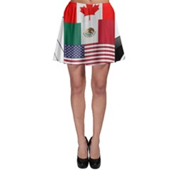 United Football Championship Hosting 2026 Soccer Ball Logo Canada Mexico Usa Skater Skirt