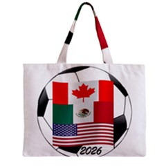 United Football Championship Hosting 2026 Soccer Ball Logo Canada Mexico Usa Mini Tote Bag