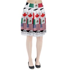 United Football Championship Hosting 2026 Soccer Ball Logo Canada Mexico Usa Pleated Skirt