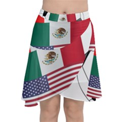 United Football Championship Hosting 2026 Soccer Ball Logo Canada Mexico Usa Chiffon Wrap