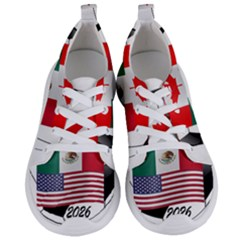 United Football Championship Hosting 2026 Soccer Ball Logo Canada Mexico Usa Women s Lightweight Sports Shoes