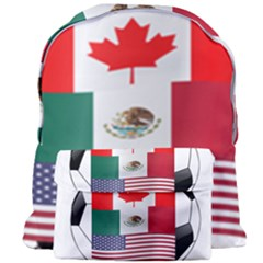 United Football Championship Hosting 2026 Soccer Ball Logo Canada Mexico Usa Giant Full Print Backpack