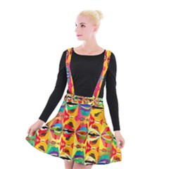 Colorful Shapes                                       Suspender Skater Skirt